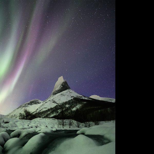 Berge, Fjorde und Polarlicht in Norwegen
