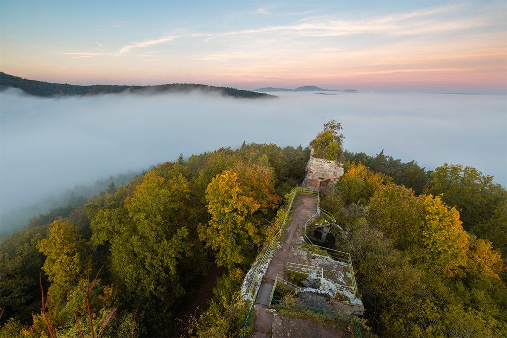Nebel vorhersagen für Fotografen.