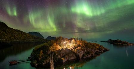 Polarlichter bieten tolle Motive für Natrufotografen.