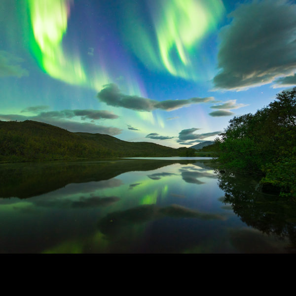 Fotografiereise Senja und Lofoten mit Polarlicht.