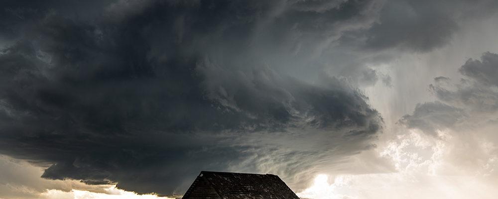 Superzelle während der Sturmjäger Fotoreise in den USA.