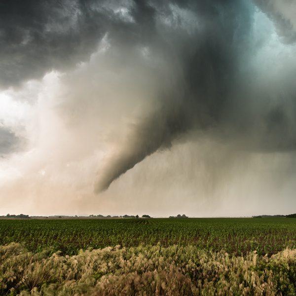 Tornado während einer Fotoreise.