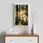 Landschaftsfotografie von Bastian Werner als Poster.