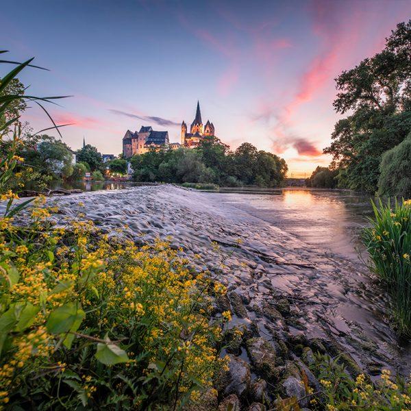 Der Limburger Dom in der Blauen Stunde